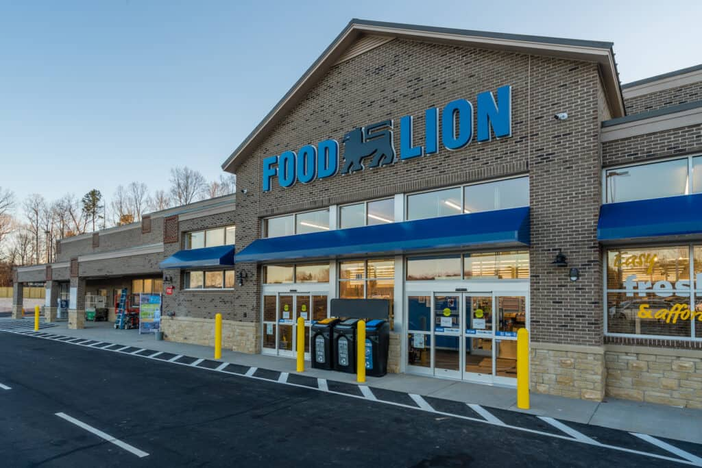 Food Lion, Wake Forest, NC exterior view