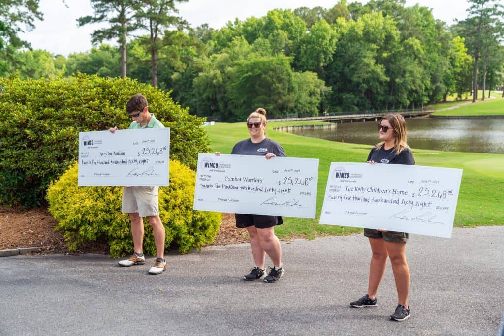 WIMCO raises over 75,00 dollars for local charities